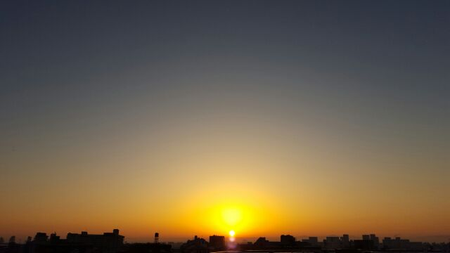 綺麗な朝日。_f0126121_728685.jpg