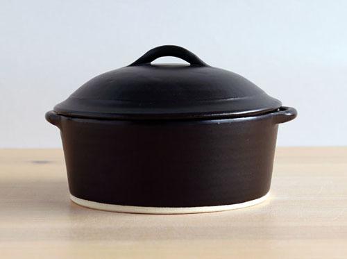 加藤かずみさんのフタ付きグラタン皿をアップしました。_a0026127_17332690.jpg