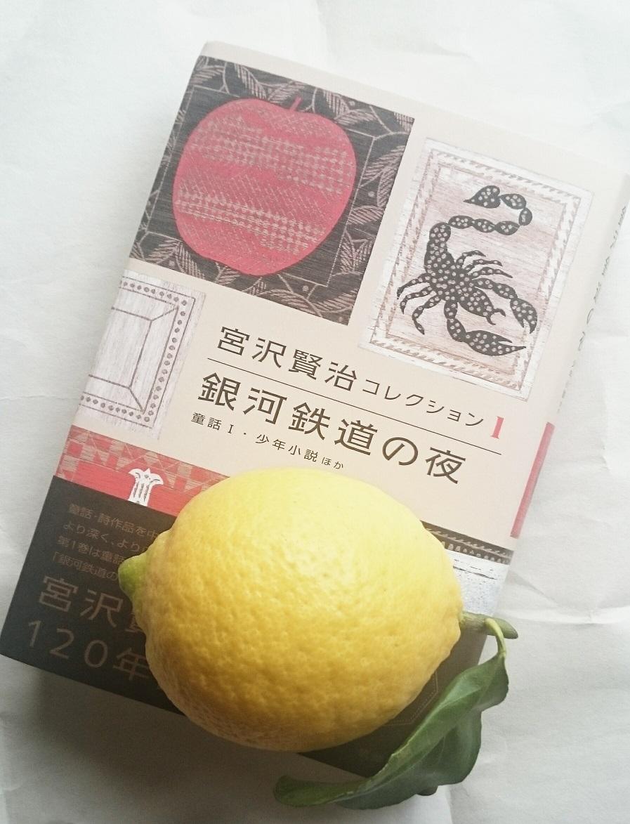 賢治さんとレモン_c0157242_10215541.jpg