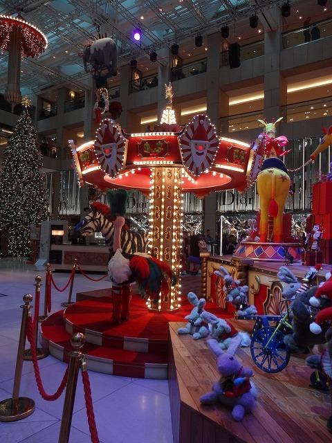 置地廣場(ザ・ランドマーク)のクリスマスデコレーション3_b0248150_09465768.jpg