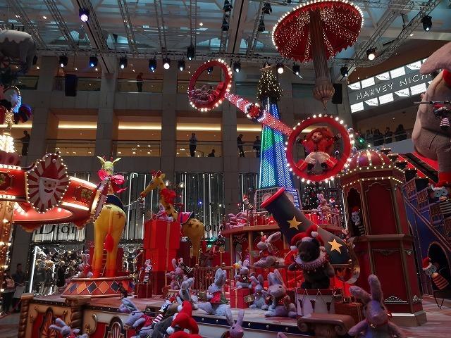 置地廣場(ザ・ランドマーク)のクリスマスデコレーション3_b0248150_09494327.jpg