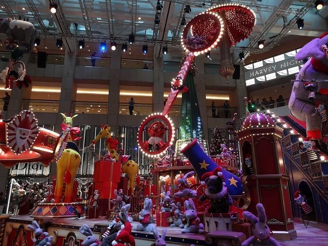 置地廣場(ザ・ランドマーク)のクリスマスデコレーション3_b0248150_09501138.jpg