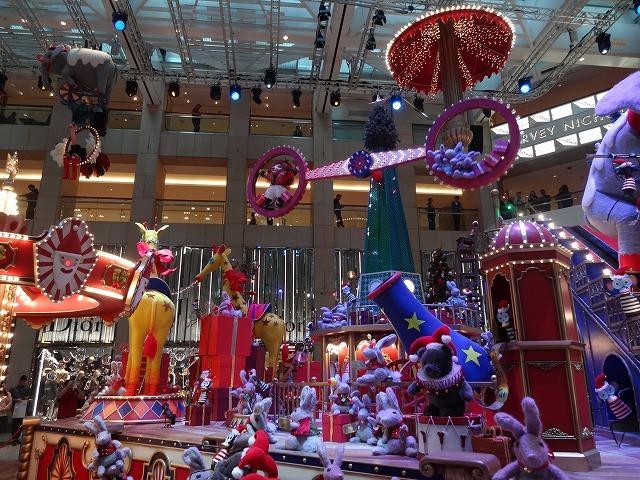 置地廣場(ザ・ランドマーク)のクリスマスデコレーション3_b0248150_09504376.jpg
