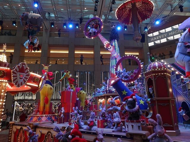 置地廣場(ザ・ランドマーク)のクリスマスデコレーション3_b0248150_09513796.jpg