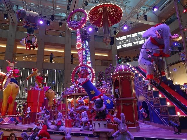 置地廣場(ザ・ランドマーク)のクリスマスデコレーション3_b0248150_09541649.jpg