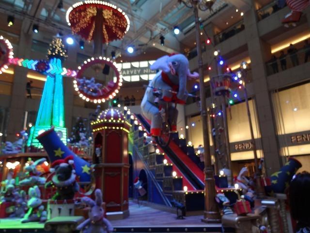置地廣場(ザ・ランドマーク)のクリスマスデコレーション3_b0248150_09544555.jpg