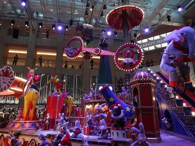 置地廣場(ザ・ランドマーク)のクリスマスデコレーション3_b0248150_09562898.jpg