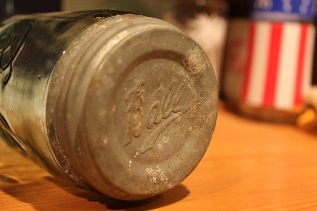 """100年前のBall社 \""""MASON JAR (メイソンジャー)\"""" ご紹介_f0191324_09512111.jpg"""