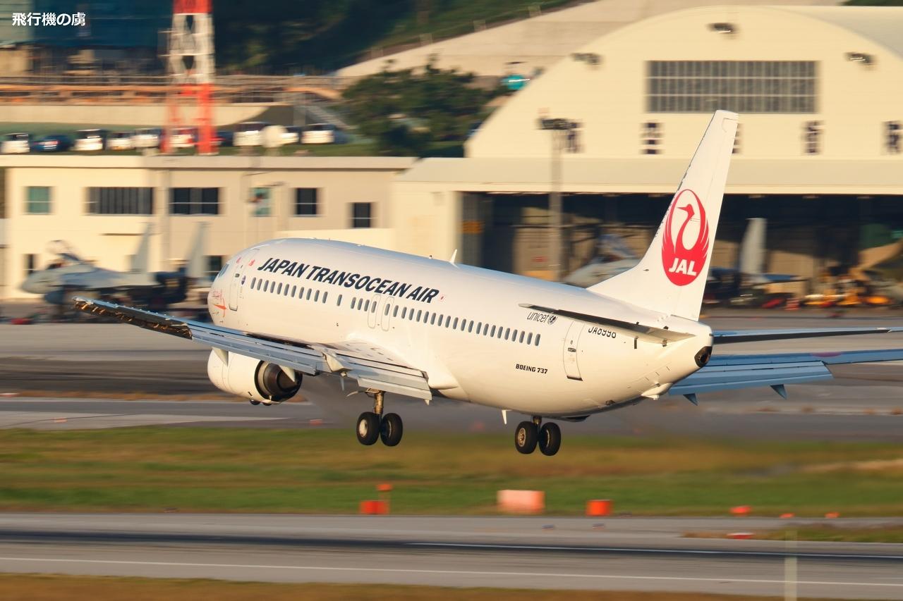 ちょっと煽られて  B737  日本トランスオーシャン航空(NU)_b0313338_23200252.jpg