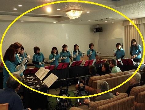ハンドベル演奏会 in 緑陽館_e0163042_11261692.jpg