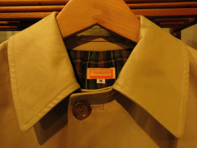 """SOURCE-TAP × TheThreeRobbers ALL WEATHER COAT\""ってこんなこと。_c0140560_16581760.jpg"