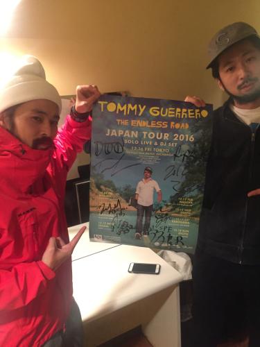 トミーゲレロ、ジャパンツアー!渋谷!宮原_d0098986_22395172.jpg