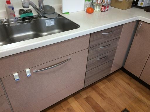 Office・Kitchen'sのキッチン・ミニリフォーム工事_a0155290_1843959.jpg