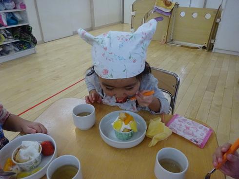 【南品川園】クリスマスケーキを作ったよ!_a0267292_10125830.jpg