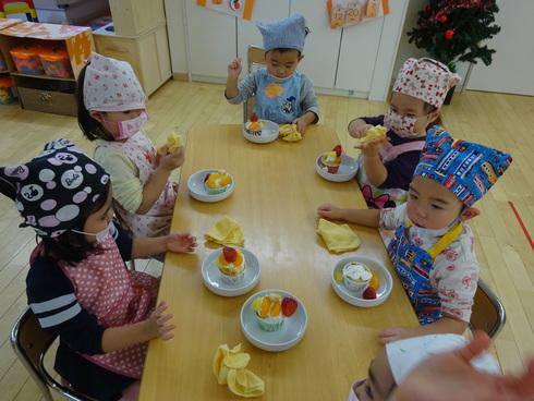 【南品川園】クリスマスケーキを作ったよ!_a0267292_10315719.jpg