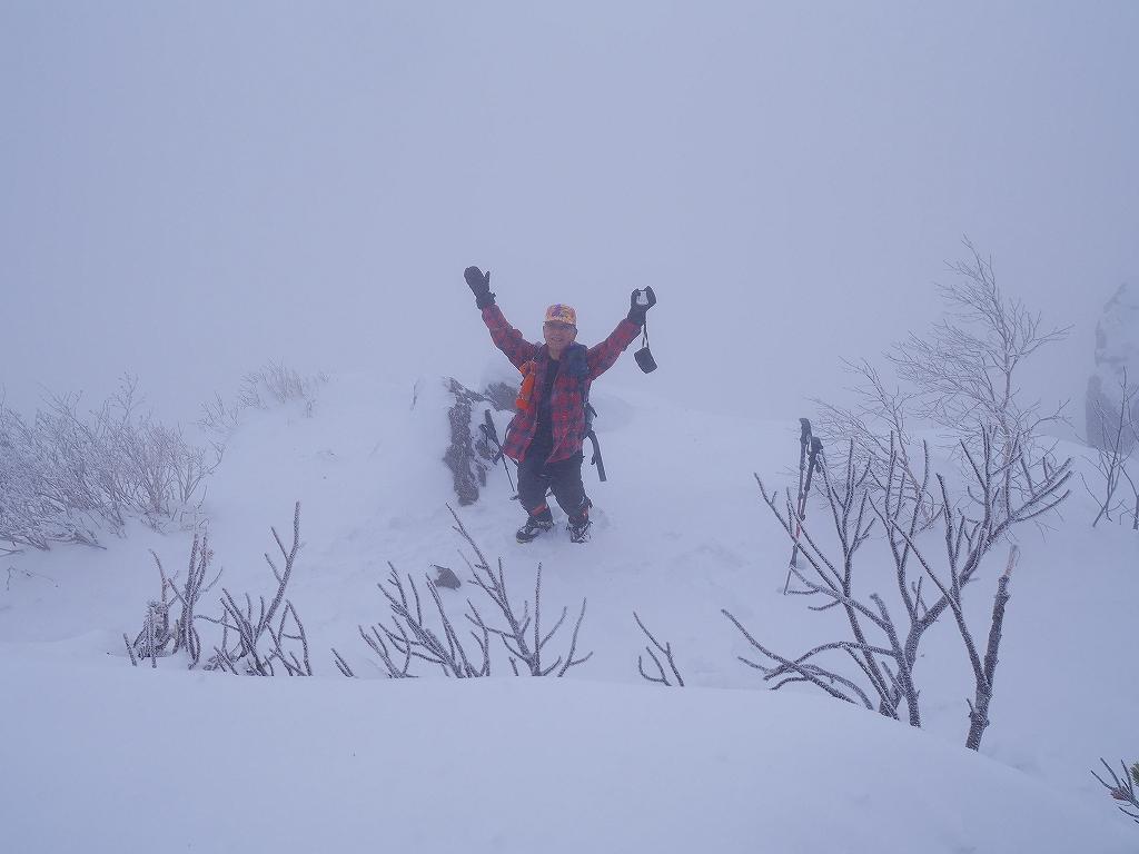 恵庭岳、12月21日_f0138096_9571491.jpg