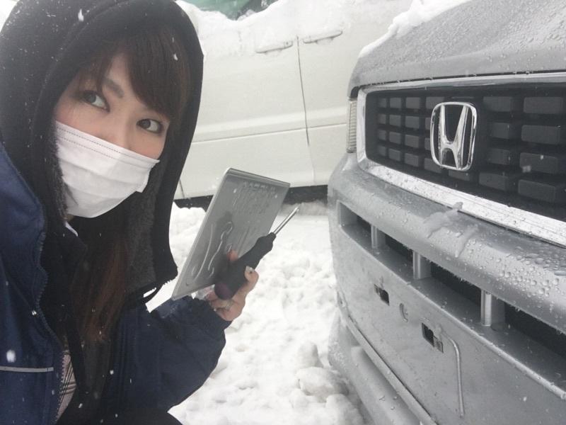 12月23日(金)☆TOMMYアウトレット☆モビリオスパイクT様納車(人´▽`*)大雪警報!!あゆブログ♪_b0127002_16545221.jpg
