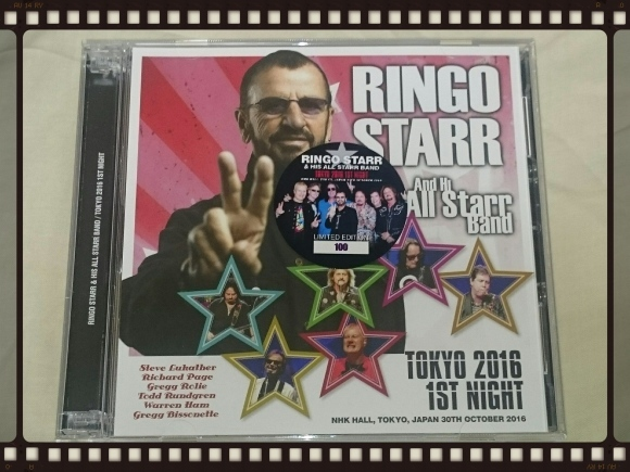 RINGO STARR And His All Starr Band / TOKYO 2016 1ST NIGHT_b0042308_18081299.jpg