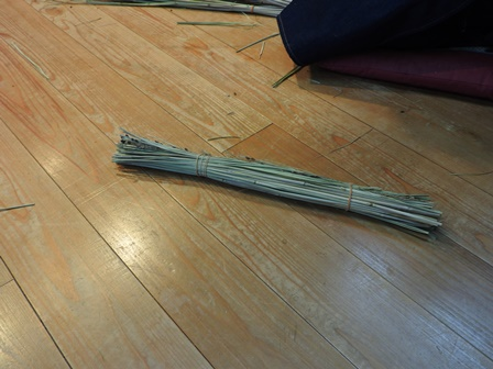 米作り6・お飾りを作ろうA~鳥居形~_a0123836_15264868.jpg