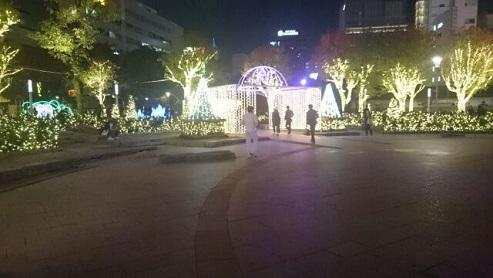 クリスマスイルミネーションin警固公園_e0149436_005152.jpg