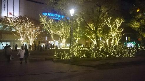 クリスマスイルミネーションin警固公園_e0149436_012511.jpg