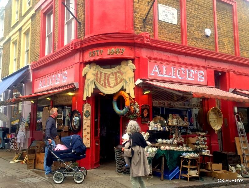 ロンドン 5   ポートベロー・マーケット_a0092659_18220308.jpg