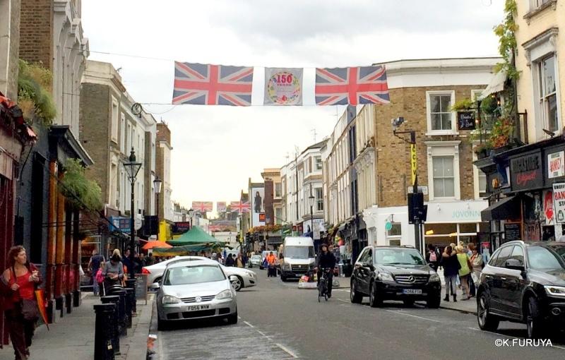 ロンドン 5   ポートベロー・マーケット_a0092659_18223671.jpg