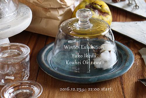 池田優子沖澤康平二人展の期間限定webshopは今夜10時より_e0205196_18173544.jpg
