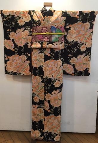 26日より!乙女な古典!黒桜と鞠着物×蝶桜帯♪販売商品18_c0321302_08454696.jpg