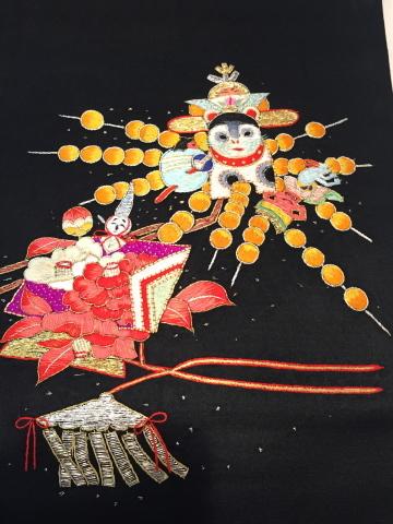 26日より!レアな逸品!桃太郎と狛犬刺繍帯♪販売商品29_c0321302_15343757.jpg