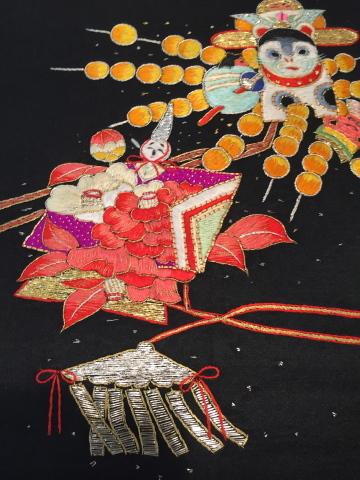26日より!レアな逸品!桃太郎と狛犬刺繍帯♪販売商品29_c0321302_15345814.jpg