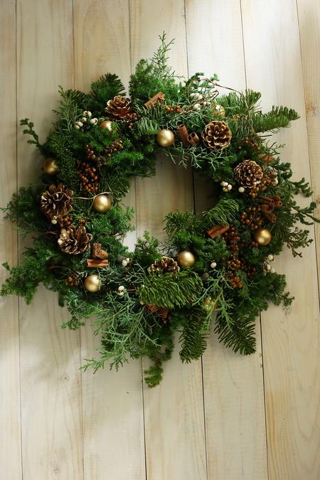 12月定期スクール クリスマスリースなど とお正月アレンジ販売_a0042928_18104367.jpg