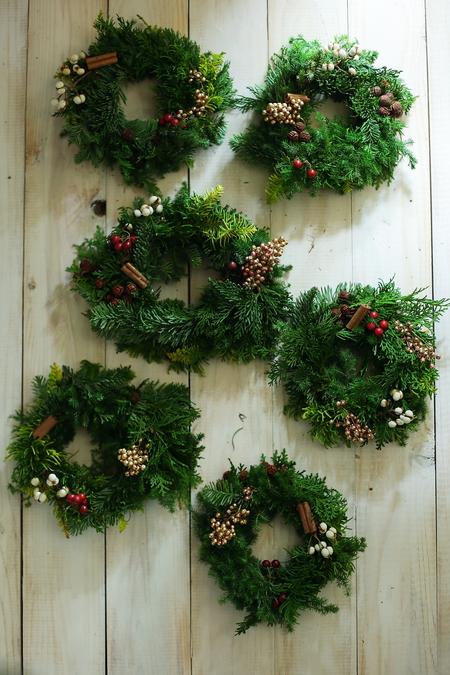 12月定期スクール クリスマスリースなど とお正月アレンジ販売_a0042928_18133355.jpg