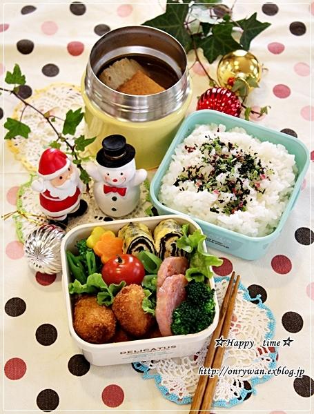一口とんかつ・おでん弁当と今夜はクリスマスディナー♪_f0348032_18080604.jpg