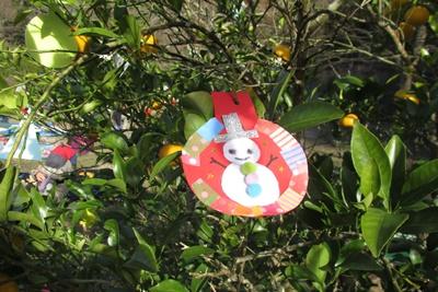米作り6.お飾りをつくろうB ~輪飾り~ / クリスマス_a0123836_15303136.jpg