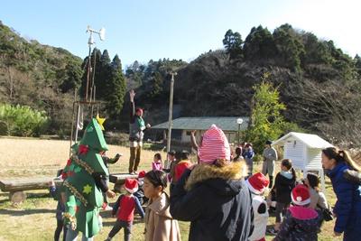 米作り6.お飾りをつくろうB ~輪飾り~ / クリスマス_a0123836_15323544.jpg