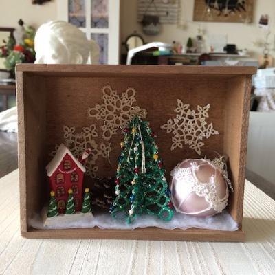 タティングレースのクリスマスツリーと素敵な出会いと。(ハンドメイド・雑貨DIY部門)_f0089355_23244469.jpg
