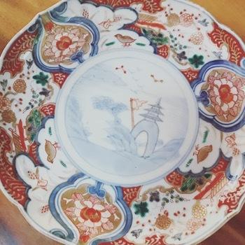 古いけどおニューなお皿が仲間入り_d0133485_10415594.jpg