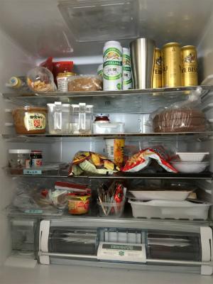 冷凍冷蔵庫の おかたづけと掃除に ♪ Before &After_a0239890_10114593.jpg