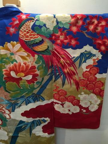 明日から!新宿「歳末今昔きもの市」♪酉年に素敵な逸品!絢爛豪華なアンティーク羽織♪販売商品37_c0321302_12571859.jpg