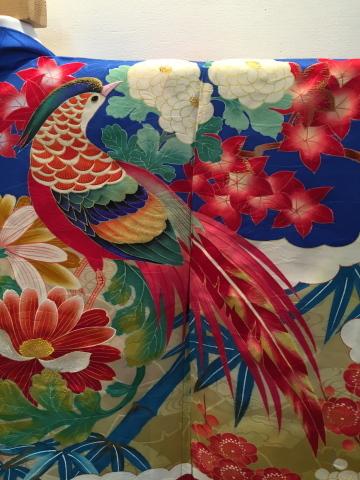 明日から!新宿「歳末今昔きもの市」♪酉年に素敵な逸品!絢爛豪華なアンティーク羽織♪販売商品37_c0321302_12572760.jpg