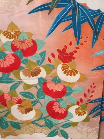 明日から!新宿「歳末今昔きもの市」♪酉年に素敵な逸品!絢爛豪華なアンティーク羽織♪販売商品37_c0321302_12574773.jpg