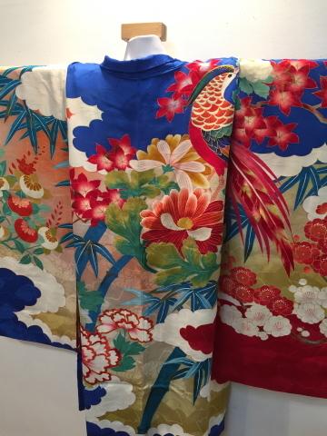 明日から!新宿「歳末今昔きもの市」♪酉年に素敵な逸品!絢爛豪華なアンティーク羽織♪販売商品37_c0321302_13030214.jpg