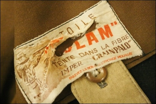 2016 OCT ヨーロッパ買い付け後記35(フランスヴィンテージ 動物ボタンハンティングジャケット、ゴマシオショップコート)_f0180307_04141070.jpg