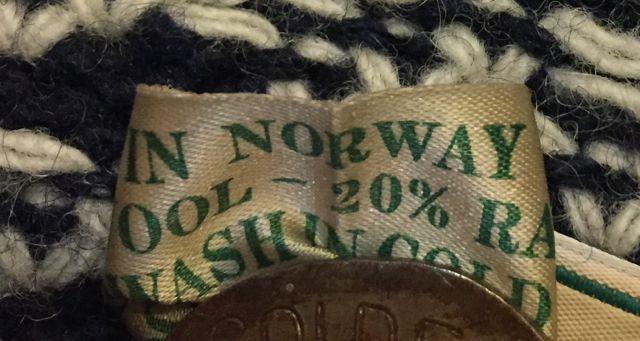 再入荷 !80s~MADE IN NORWAY  L.L Bean バードアイ  セーター_c0144020_18352333.jpg