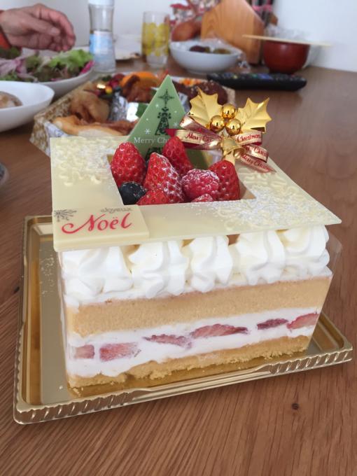 クリスマスケーキ。_b0135325_15090734.jpg