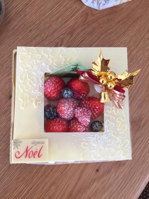クリスマスケーキ。_b0135325_15090871.jpg