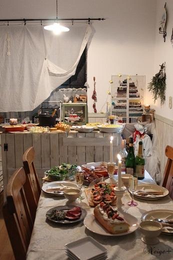 2016クリスマスホームパーティ♪今年はローストビーフが大成功!_f0023333_21421503.jpg