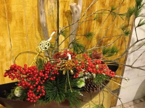 さあ‼️   お正月🎍・・・お正月飾りお正月アレンジ販売です。_b0137969_19591520.jpg
