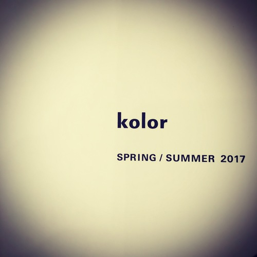 kolor S/S 2017 COLLECTION Coming Soon..._c0079892_2031924.jpg